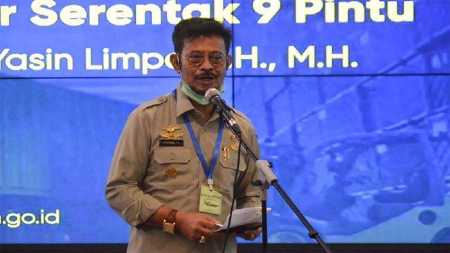 Mentan Syahrul Yasin Limpo mengklaim pertanian masih tahan banting dari tekanan corona. Bahkan ia mengklaim yang paling angkat ekonomi RI adalah Pertanian.