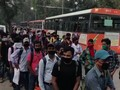 VIDEO: 300 Bus Jemput Mahasiswa India yang Terjebak Lockdown