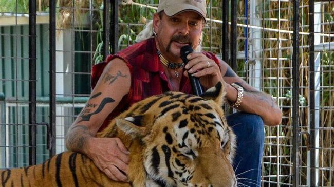 Joe Exotic di Tiger King: Murder, Mayhem and Madness.