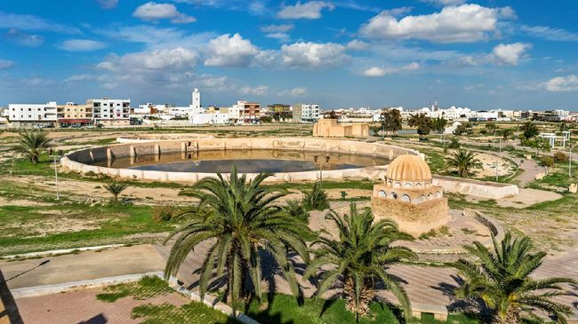 Medieval Aghlabid Basins in Kairouan - Tunisia, North Africa