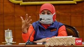 Khofifah Belum Banyak Bicara soal New Normal di Jawa Timur