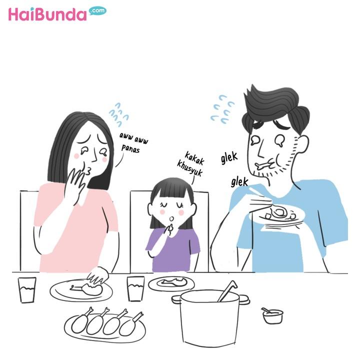 Komik HaiBunda Telat Sahur