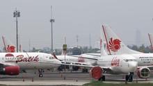 Corona, BPS Catat Penumpang Pesawat Domestik Cuma 838 Ribu