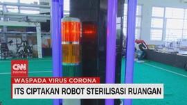 VIDEO: ITS Ciptakan Robot Strelisasi Ruangan