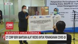 VIDEO: Bantuan Alat Medis untuk Penanganan Covid-19
