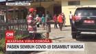 VIDEO: Pasien Sembuh Covid-19 Disambut Warga