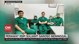 VIDEO: Perawat RS Sulianti Saroso Meninggal Terpapar Covid-19