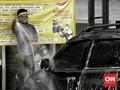 FOTO: Asa Tukang Cuci Mobil di Tengah Pandemi Covid 19