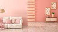 """<span style=""""color: rgb(34, 34, 34); font-family: Arial, Helvetica, sans-serif; font-size: small;"""">Blush pink seperti ini menjadikan rumah minimalis tampak lembut dan manis, Bun. (</span>Foto: Getty Images/iStockphoto/Inna Andrushchenko)"""