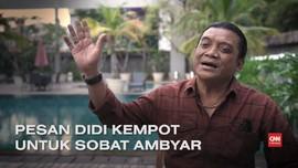 VIDEO: Pesan Didi Kempot untuk Sobat Ambyar