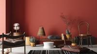 """<span style=""""color: rgb(34, 34, 34); font-family: Arial, Helvetica, sans-serif; font-size: small;"""">Hindari warna merah super terang untuk warna rumah. Sebaliknya, cobalah poles warna merah marun untuk mendapatkan rasa hangat. (</span>Foto: Getty Images/iStockphoto/Artjafara)"""