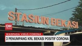 VIDEO: 3 Penumpang KRL Bekasi Positif Corona