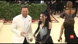 VIDEO: Elon Musk Beri Nama Anak Huruf dan Angka