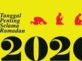 INFOGRAFIS: Tanggal Penting Selama Ramadan 2020