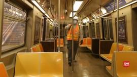 VIDEO: Efek Pandemi, Subway New York Dihentikan Sementara
