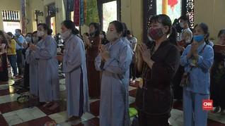 VIDEO: Umat Buddha Vietnam Rayakan Waisak di Tengah Pandemi