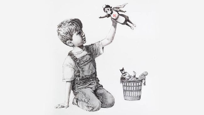 Ilustrasi Banksy Game Changer
