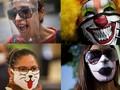 FOTO: Rupa-rupa Ekspresi Masker ala Amerika Latin