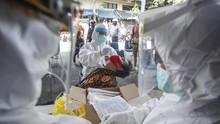 Papua Kehabisan VTM, Tes Swab Corona Terhenti Sementara