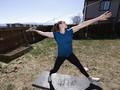 FOTO : Pergulatan Atlet Olimpiade AS Berlatih di Masa Pandemi