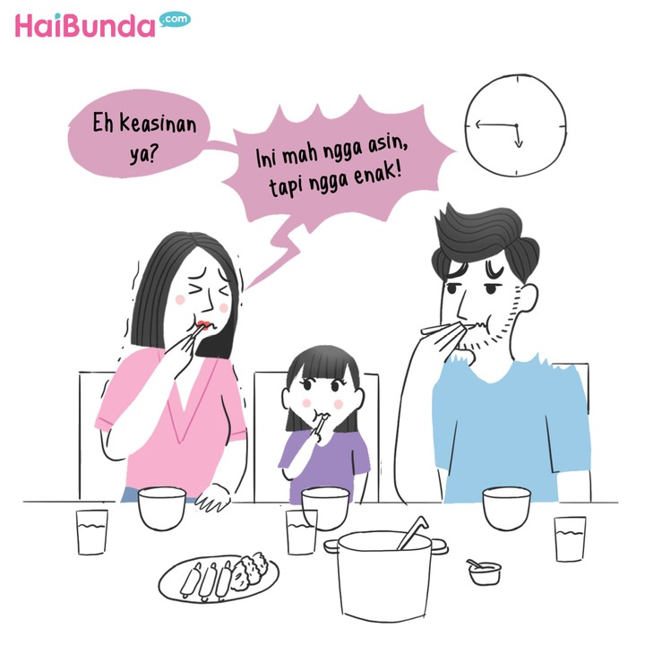Komik Mencoba Resep Baru