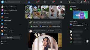 Facebook Uji Coba Dark Mode di Smartphone