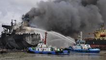 Penyidikan Kebakaran Kapal Tanker MT Jag Leela Dihentikan