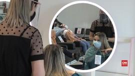 VIDEO: Lockdown Longgar, Warga Prancis Serbu Salon