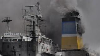 Satu Pekerja Tewas Terbakar di Kapal Tanker Jag Leela