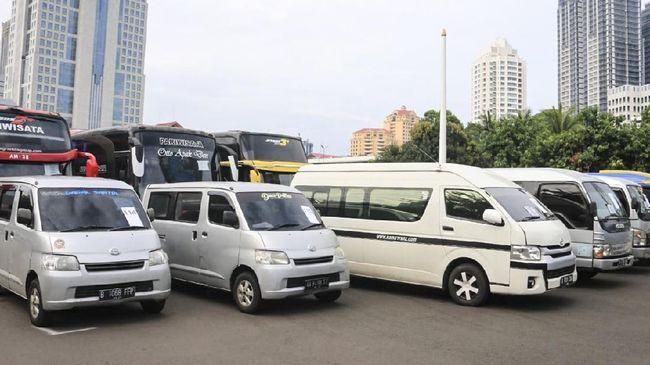 Sebanyak 346 pelanggaran travel gelap terjaring operasi ketupat sejak larangan mudik mulai berlaku, 6 Mei 2021.