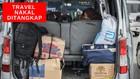 VIDEO: Polisi Tangkap Ratusan Travel Antar Pemudik Saat PSBB