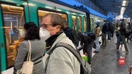VIDEO: Pelonggaran Lockdown, Transportasi Paris Kembali Ramai