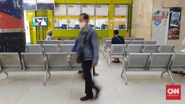 KAI Sebut Stasiun Gambir Sepi Penumpang Jelang Lebaran