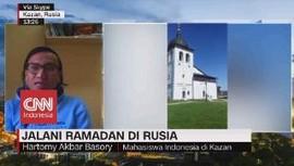 VIDEO: Jalani Puasa Ramadan 17 Jam di Kazan, Rusia