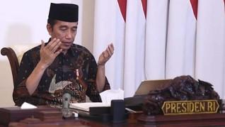 Jokowi Buka Konser Virtual Lawan Corona yang Digagas BPIP