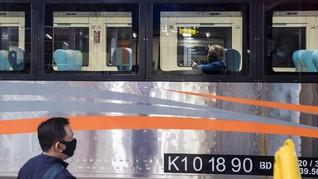 KAI Cuma Operasikan Tiga Kereta Jarak Jauh Hingga 31 Juli