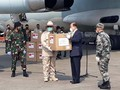 Prabowo Kembali Terima Bantuan Alkes China Tangani Corona
