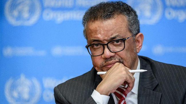 Direktur Jenderal Organisasi Kesehatan Dunia (WHO) Tedros Adhanom Ghebreyesus mengatakan kasus virus corona global melonjak drastis.