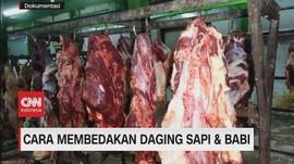 VIDEO: Cara Membedakan Daging Sapi & Babi