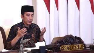 Ikut Doa Lintas Agama, Jokowi Minta Sabar Hadapi Corona