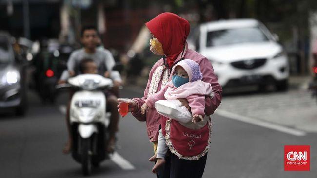 BPS mencatat penduduk miskin di Indonesia mencapai 27,55 juta orang per September atau 10,19 dari total populasi.