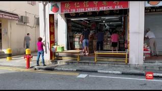 VIDEO: Singapura Bolehkan Toko-toko Kembali Buka