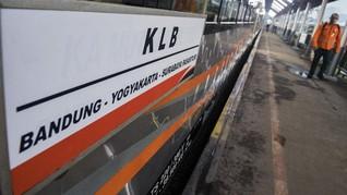 Hari Ini, KAI Resmi Operasikan Perjalanan Kereta Luar Biasa