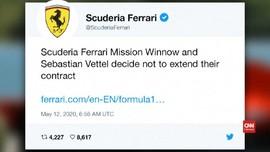 VIDEO: Vettel Tinggalkan Ferrari Usai Musim 2020
