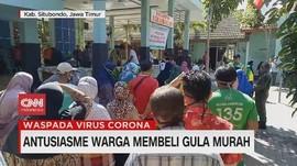 VIDEO: Antusiasme Warga Membeli Gula Murah