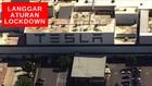 VIDEO : Pabrik Elon Musk Langgar Aturan Lockdown