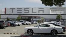 Valuasi Saham Tesla Tembus Rp7.384 Triliun