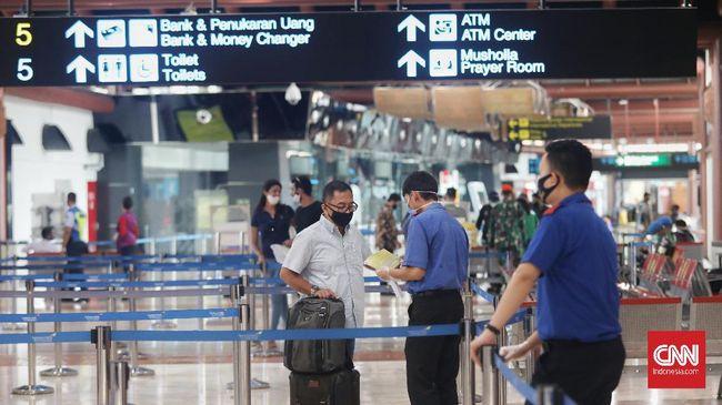 Jumlah penumpang pesawat di 19 bandara yang dikelola AP II melonjak 143 persen menjadi 1,52 juta penumpang pada Juli 2020.