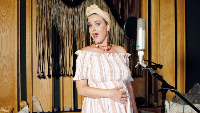 UNSPECIFIED - MAY 09: In this screengrab, Katy Perry performs during SHEIN Together Virtual Festival to benefit the COVID-19 Solidarity Response Fund for WHO powered by the United Nations Foundation on May 09, 2020.   Getty Images/Getty Images for SHEIN/AFP