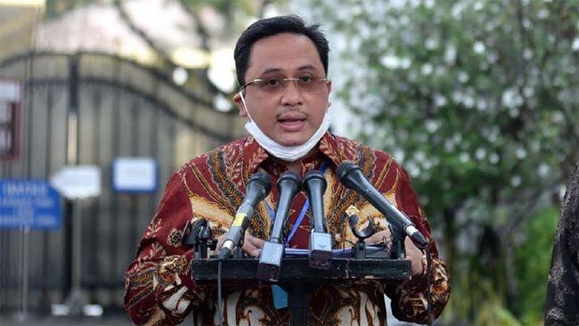 Presiden Joko Widodo terima laporan IHPS II Tahun 2019 dari Ketua BPK Agung Firman Sampurna, Kamis (14/5) / Foto: Lukas-Biro Setpres